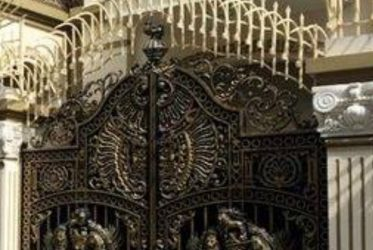 Thiết kế thi công cửa cổng nhôm đúc mỹ nghệ