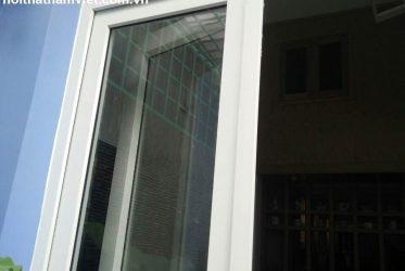 Thi Công cửa nhựa lõi thép ở 36 Yên Thế Tân Bình