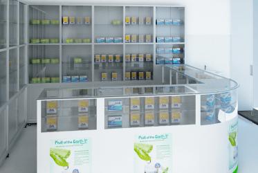 Tủ trưng bày thuốc bằng nhôm kính đẹp giá rẻ tại TPHCM